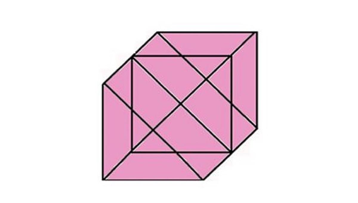 Mozgalica koja je mnoge namučila: Koliko vi trouglova vidite na slici?