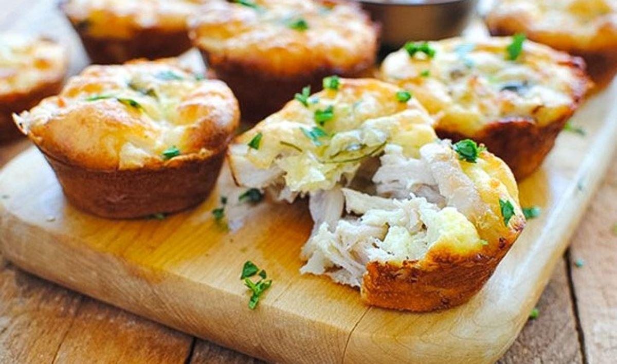 Studentski recepti: Muffini od piletine i sira