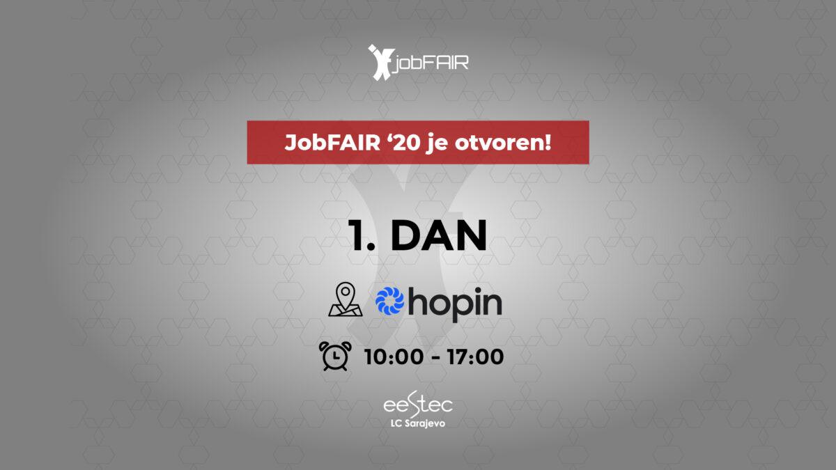 JobFAIR '20 je zvanično otvoren