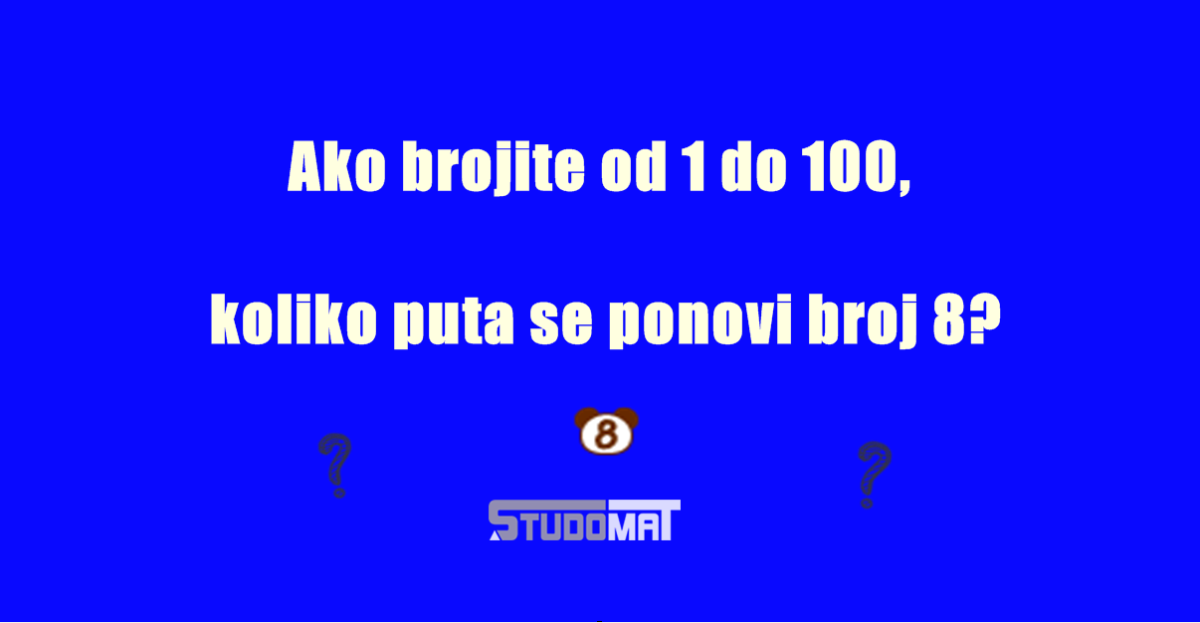 Mozgalica koja je mnoge namučila: Znate li odgovor na ovo pitanje?