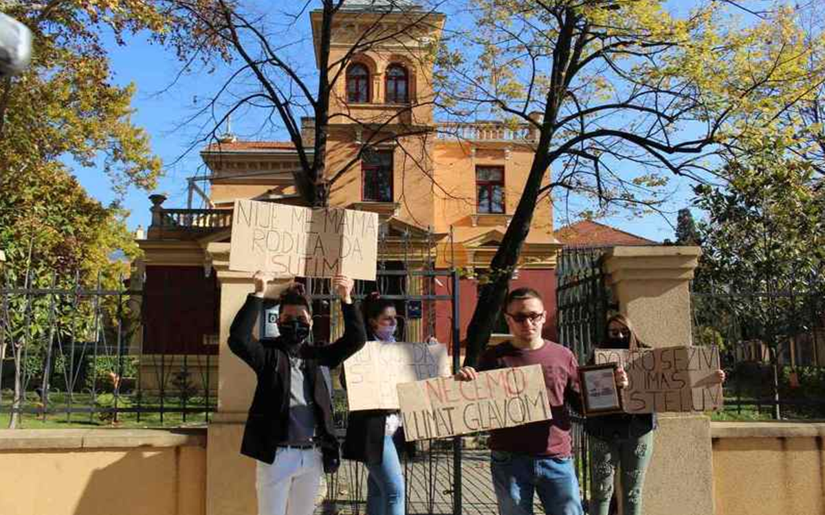 Sveučilište u Mostaru pokreće disciplinski postupak protiv studenata koji su protestovali