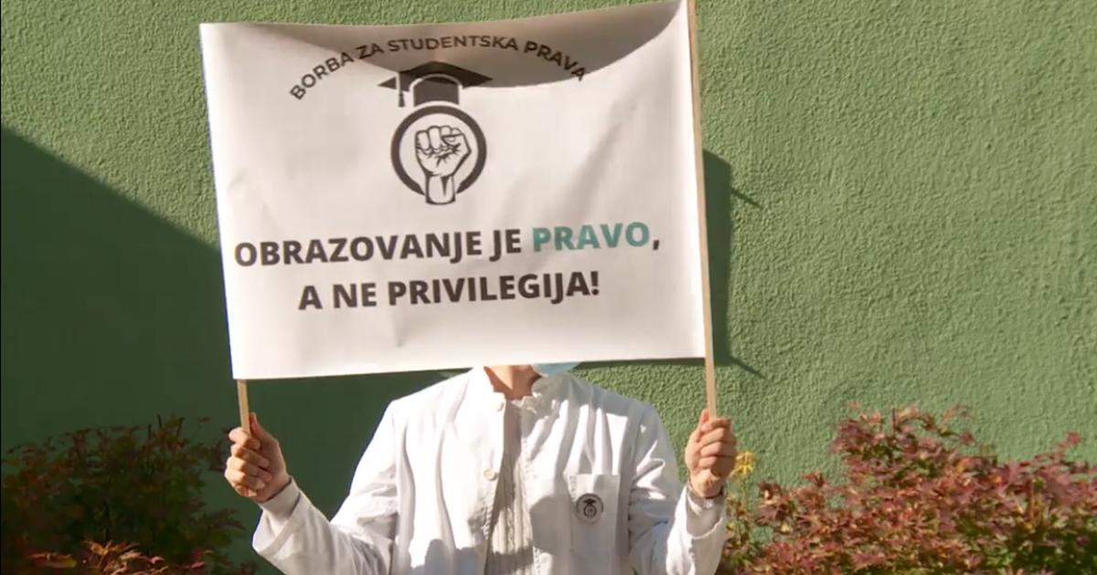 Studenti medicinske grupacije UNSA: Nakon 33 dana borbe i dalje nema nastave