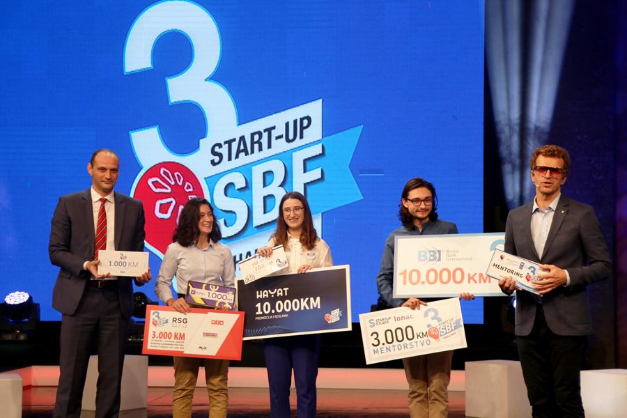 Semra Sukanović iz Tuzle pobjednica prve emisije treće sezone SBF Start-up Challenge