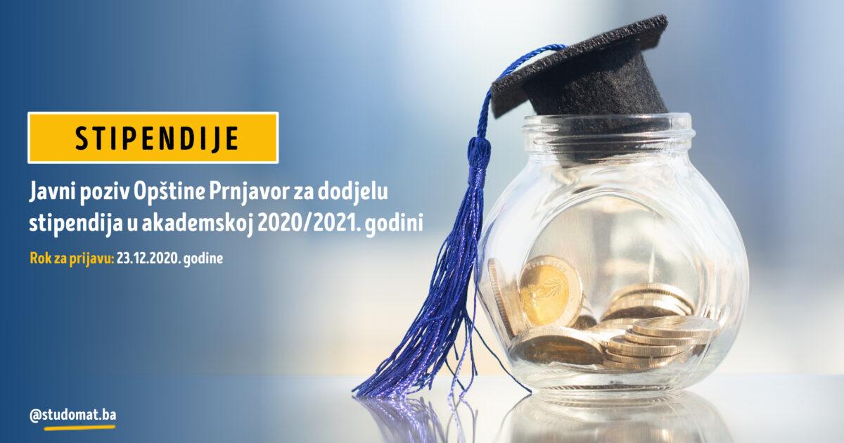 Prnjavor: Javni poziv za dodjelu stipendija u akademskoj 2020/2021. godini
