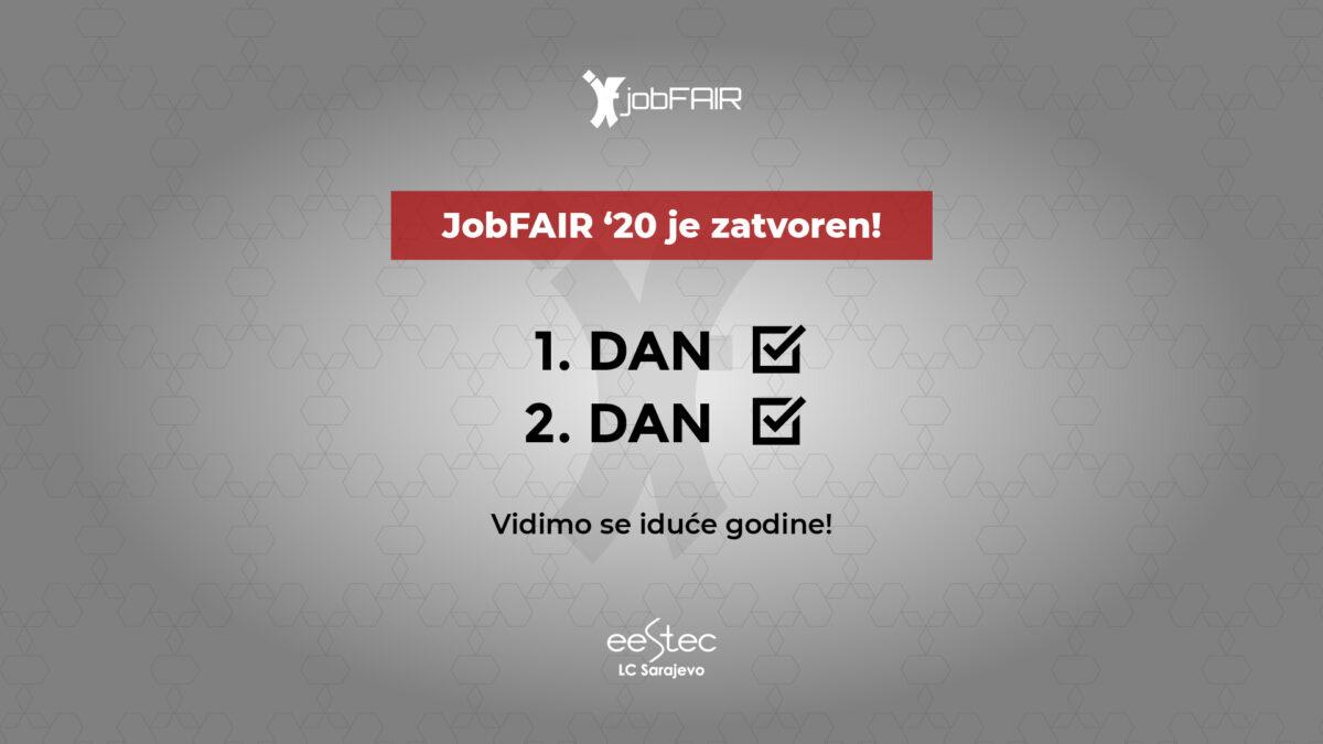 JobFAIR '20 je zvanično završen