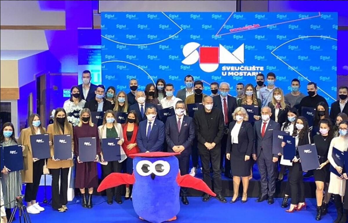 Sveučilište u Mostaru dodijelilo Rektorove nagrade najboljim studentima