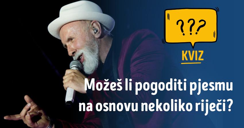 Kvizomat: Koliko poznaješ pjesme Dine Merlina?