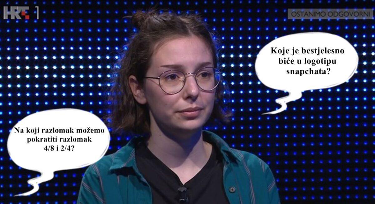 Hana koja je briljirala na Potjeri osvojenim novcem će platiti studij u Holandiji: Ovo je njezina priča