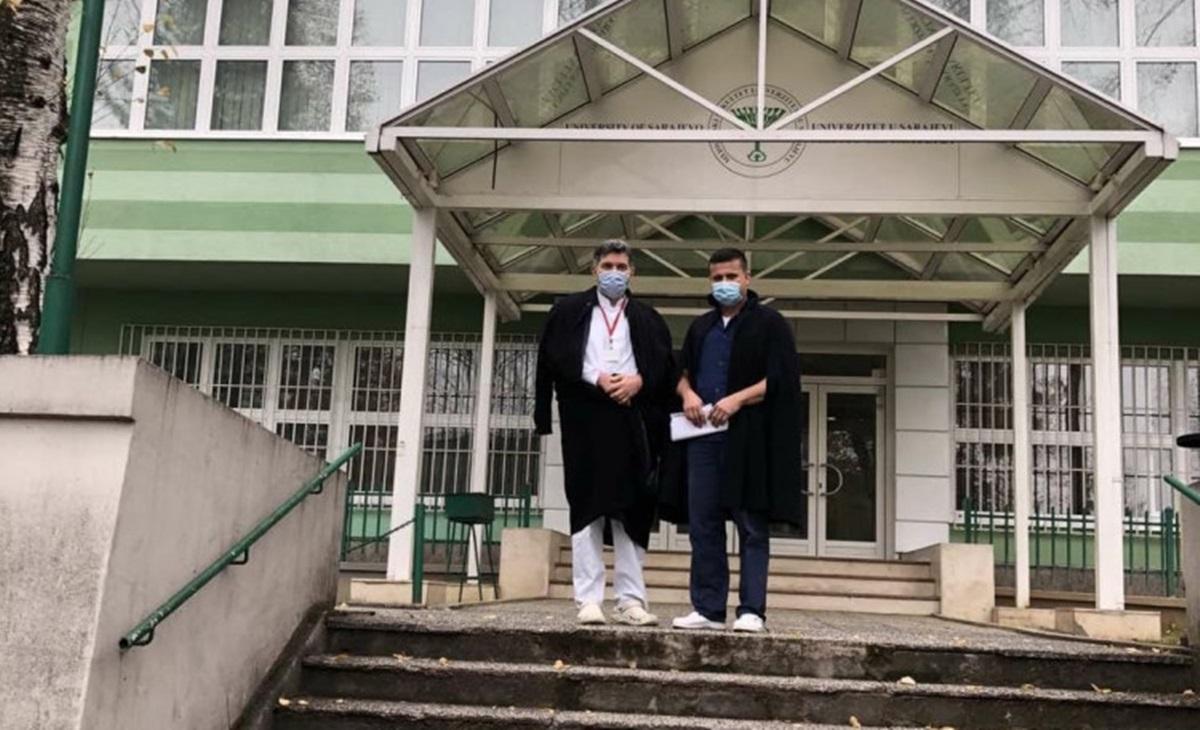 Prof.dr. Gavrankapetanović se vratio na Medicinski fakultet Univerziteta u Sarajevu