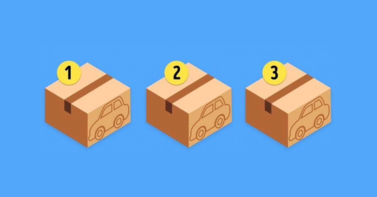 Logička mozgalica: U kojoj kutiji se nalazi automobil?