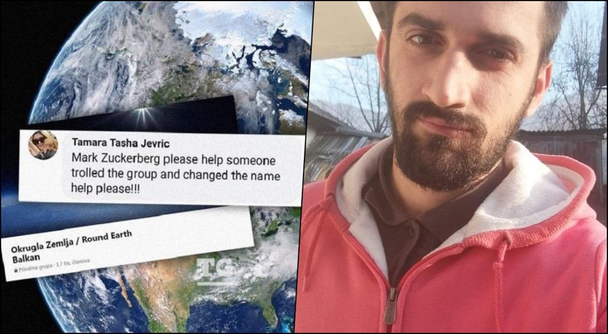 """Student iz Tuzle 'ravnozemljašima' promijenio ime grupe na Facebooku u """"Okrugla Zemlja"""""""