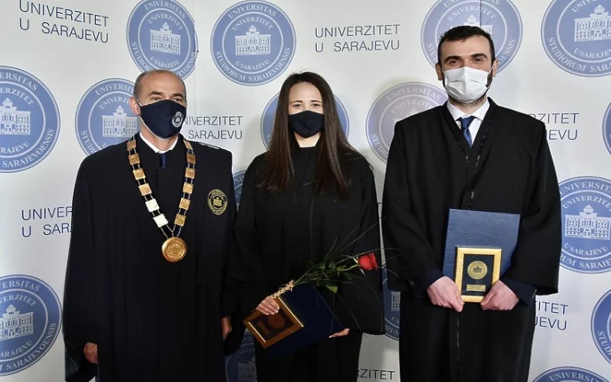Ko su najbolji studenti na Univerzitetu u Sarajevu u 2020. godini?