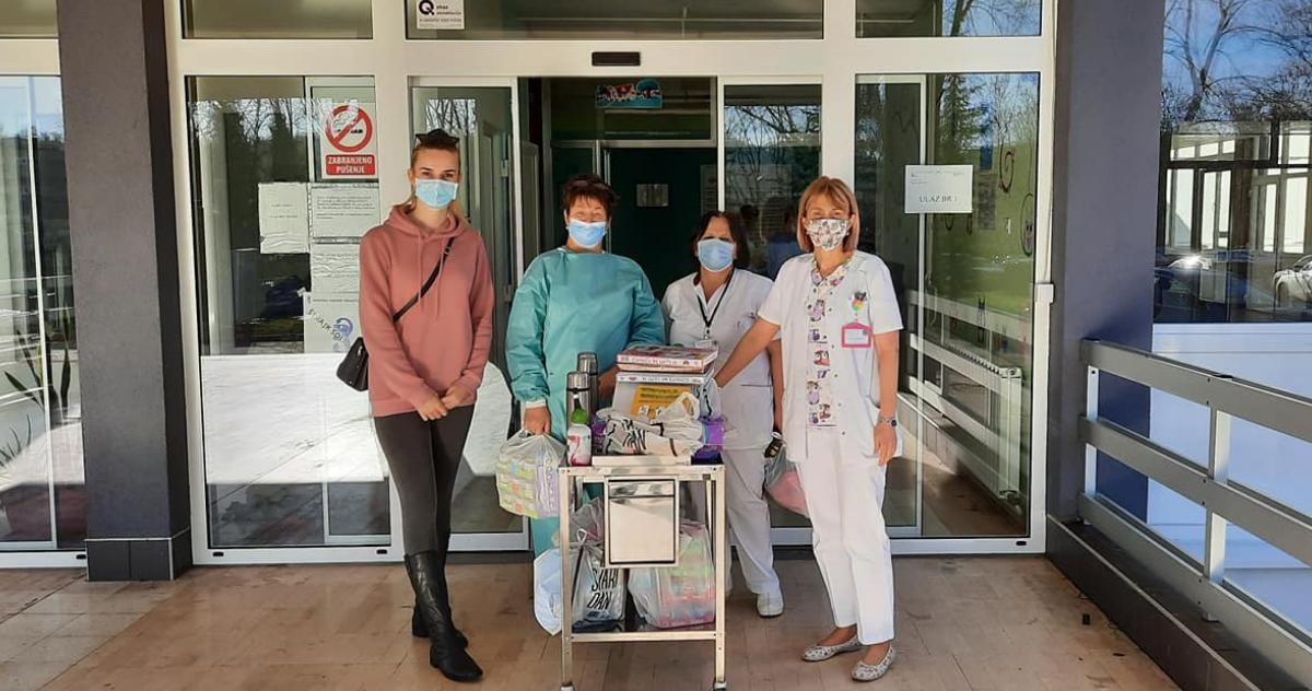 Studentsko vijeće MEDICUS: Klinici za pedijatriju UKC-a Tuzla i najmlađim pacijentima uručili poklone