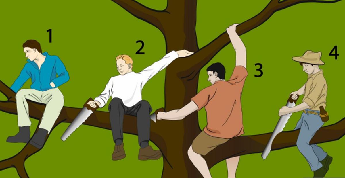 Test ličnosti: Ko je najgluplja osoba na ovoj slici?