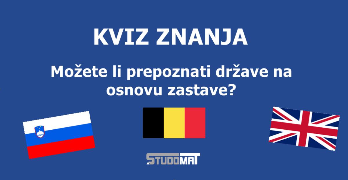 Kvizomat: Možeš li prepoznati države na osnovu zastava?