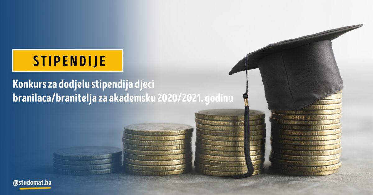 Srednjobosanski kanton: Konkurs za dodjelu stipendija djeci branilaca/branitelja za akademsku 2020/2021. godinu