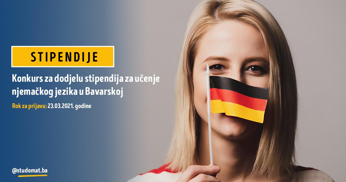 Stipendije za učenje njemačkog jezika u Bavarskoj