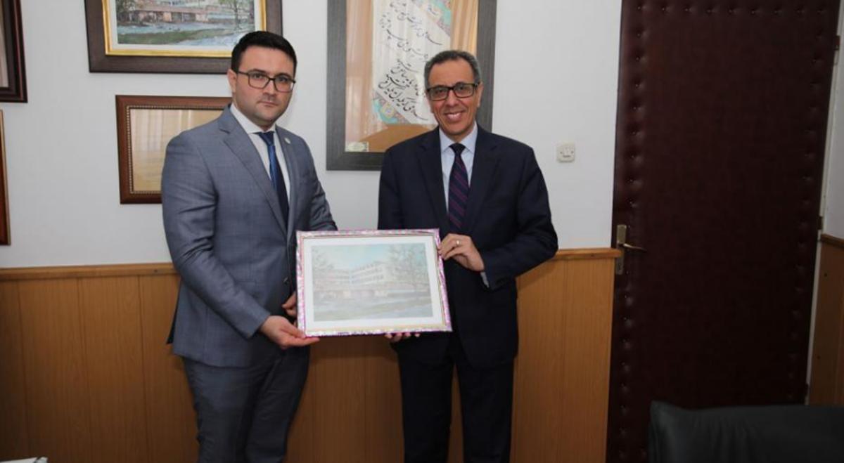 Ambasador Arapske Republike Egipat posjetio Filozofski fakultet Univerziteta u Sarajevu