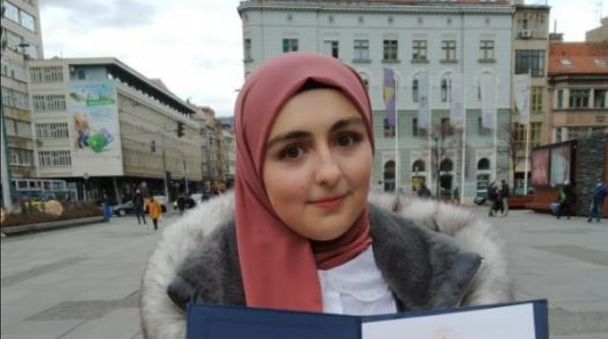 Amina Mević: Zlatna značka UNSA u doba pandemije