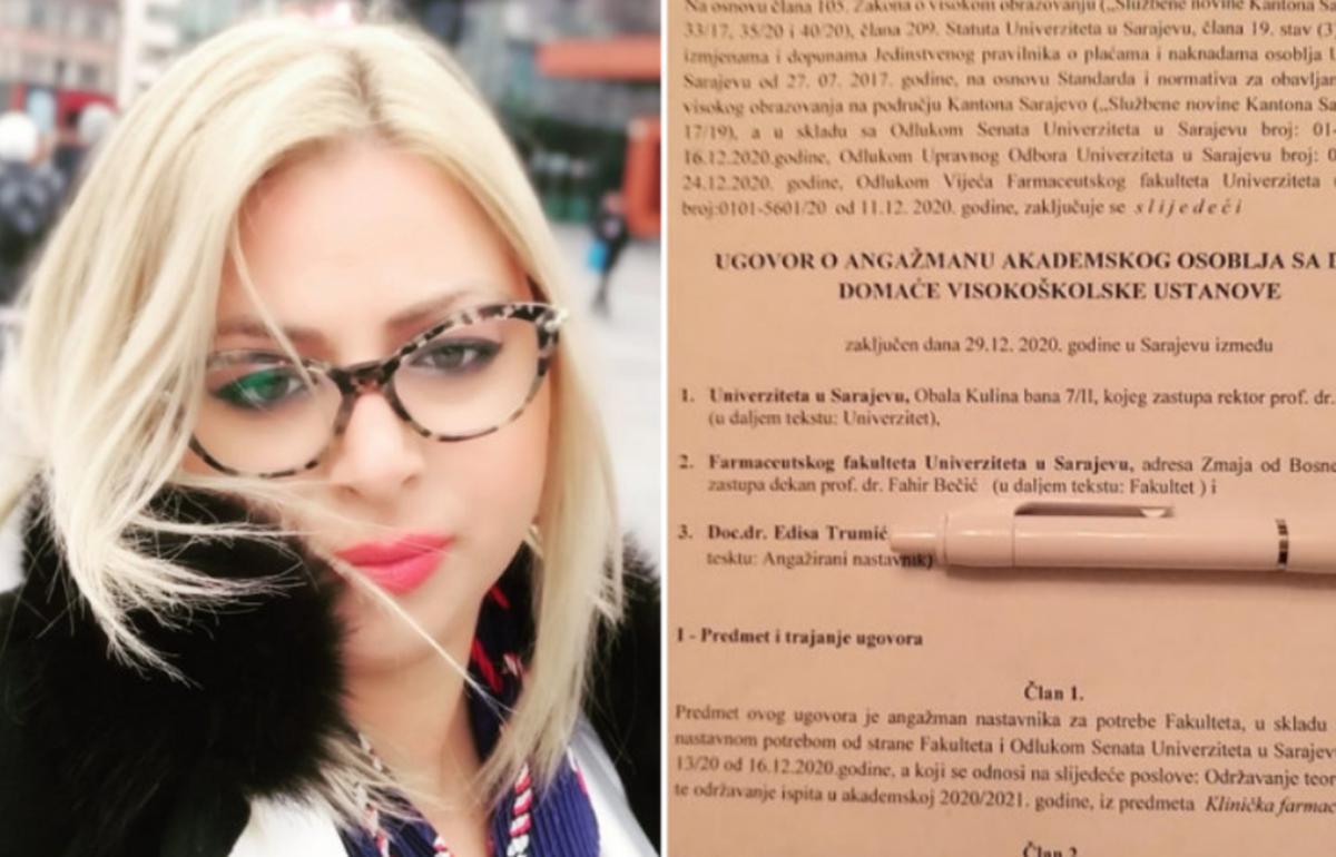 Profesorica Edisa Trumić nakon otkaza: Nisam studente nazvala kerovima, asistent me snimao