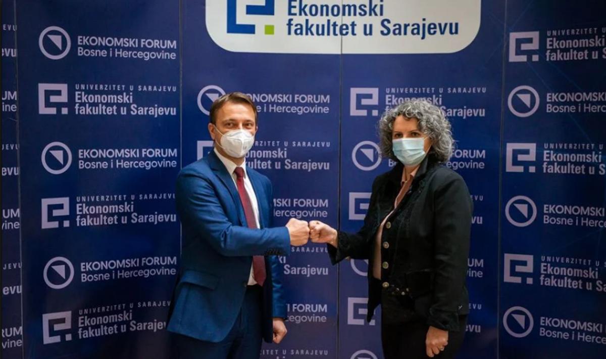 Američka trgovačka komora u BiH i Ekonomski fakultet Univerziteta u Sarajevu potpisali sporazum o saradnji