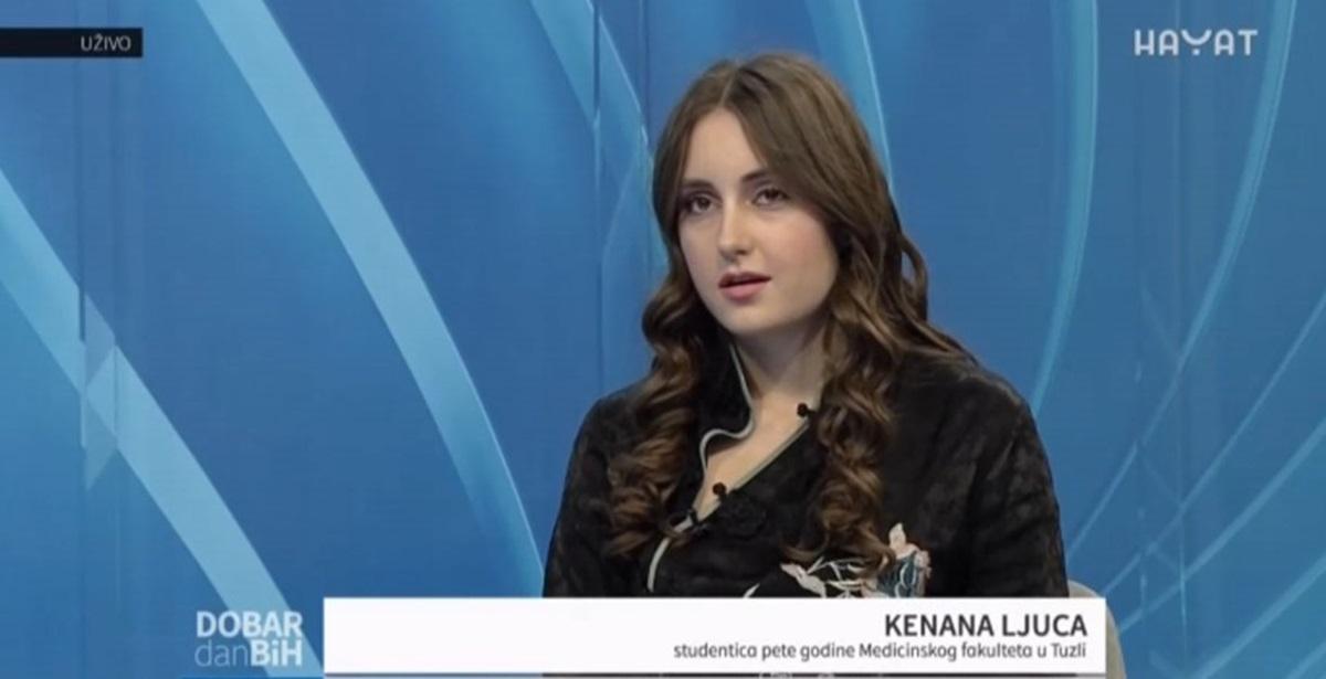Ne smijemo dozvoliti da nam odlazi mladi, stručni kadar: Kenana Ljuca želi ostati u BiH