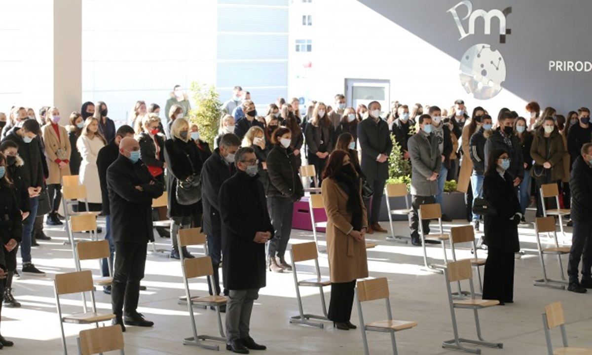Sveučilište u Splitu oprostilo se od studenata stradalih kod Posušja