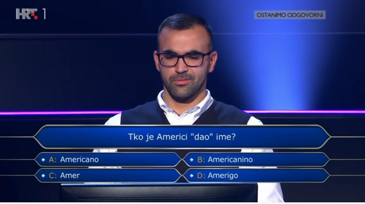 Kvizomat: Student u Milijunašu osvojio 32 000 kuna, znate li odgovore na njegova pitanja?