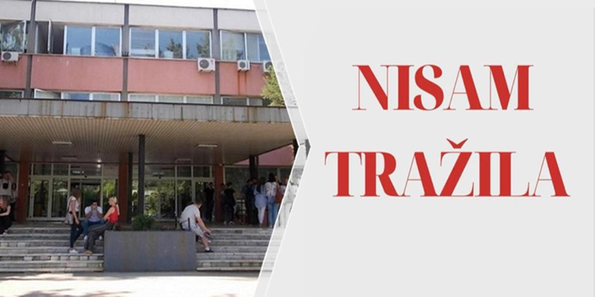 Upućen zahtjev za preispitivanje slučajeva seksualnog nasilja na Univerzitetu u Tuzli