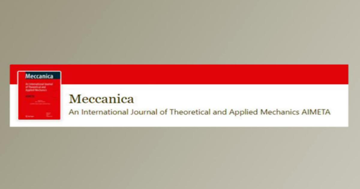 Izvrsni rezultati mladog naučnika sa Mašinskog fakulteta UNSA: Naučni rad publikovan u renomiranom časopisu