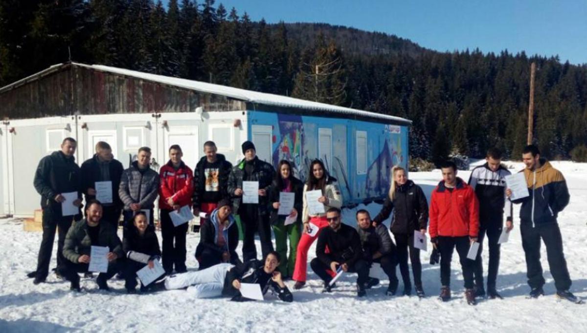 """UNSA: Održan """"Univerzitetski ski-kup"""" na Igmanu"""