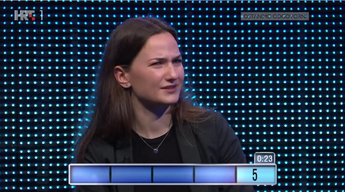 """Studentica napravila """"gaf"""" na teniskom pitanju u Potjeri, a zatim se javio i Borna Ćorić"""