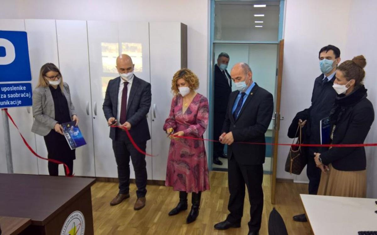 Svečano otvoren Laboratorij za simulacije u logistici i ITS-u na Fakultetu za saobraćaj i komunikacije UNSA