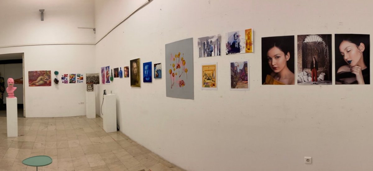 """Druga izložba Asocijacije studenata Akademije likovnih umjetnosti UNSA: """"Hroma u ahromatskim danima"""""""