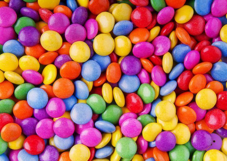 Oko sokolovo: Možete li pronaći dugme među bombonama?