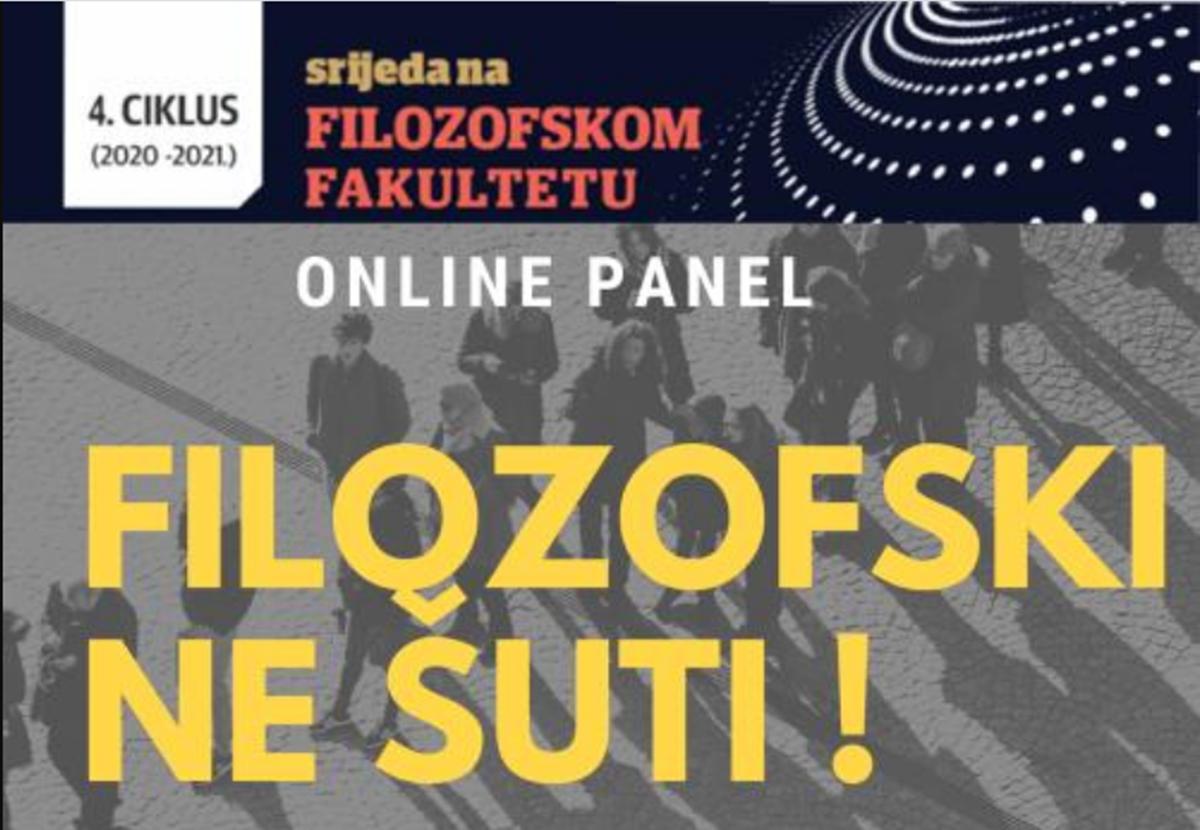 "Filozofski fakultet UNTZ: Panel diskusija ""Filozofski NE ŠUTI"""