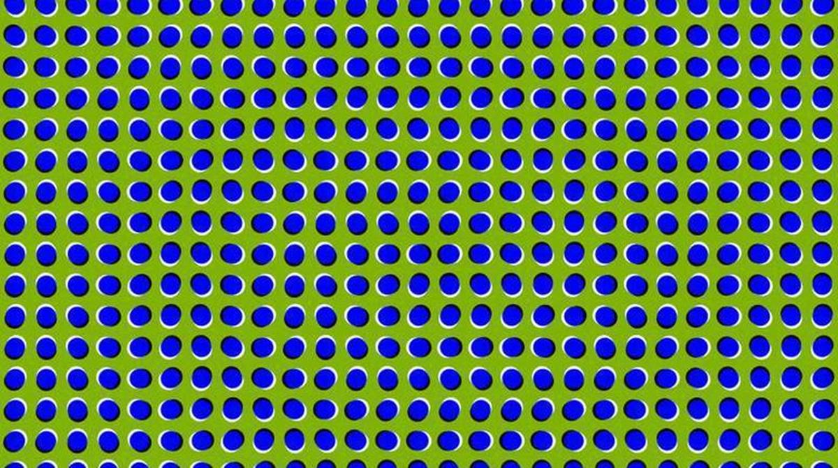 Optička iluzija: Da li se slika pomjera ili ne?