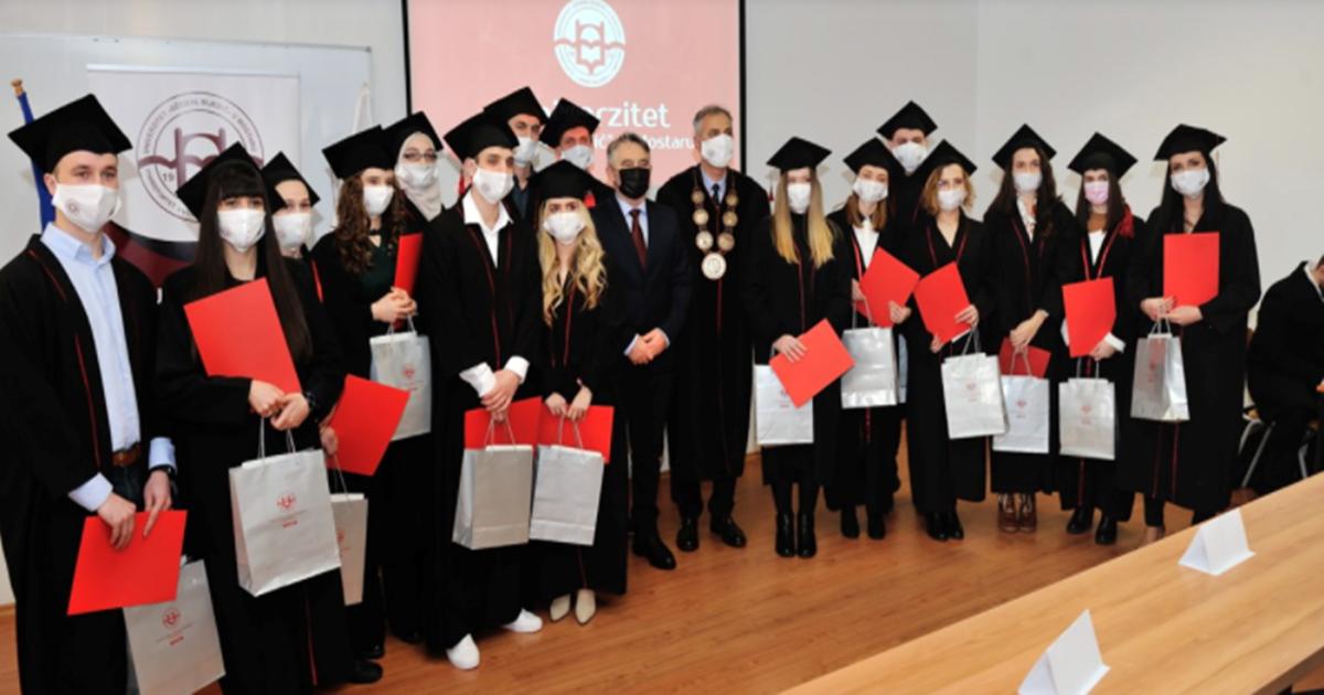 Nagrade rektora dodijeljene najboljim studentima u Mostaru