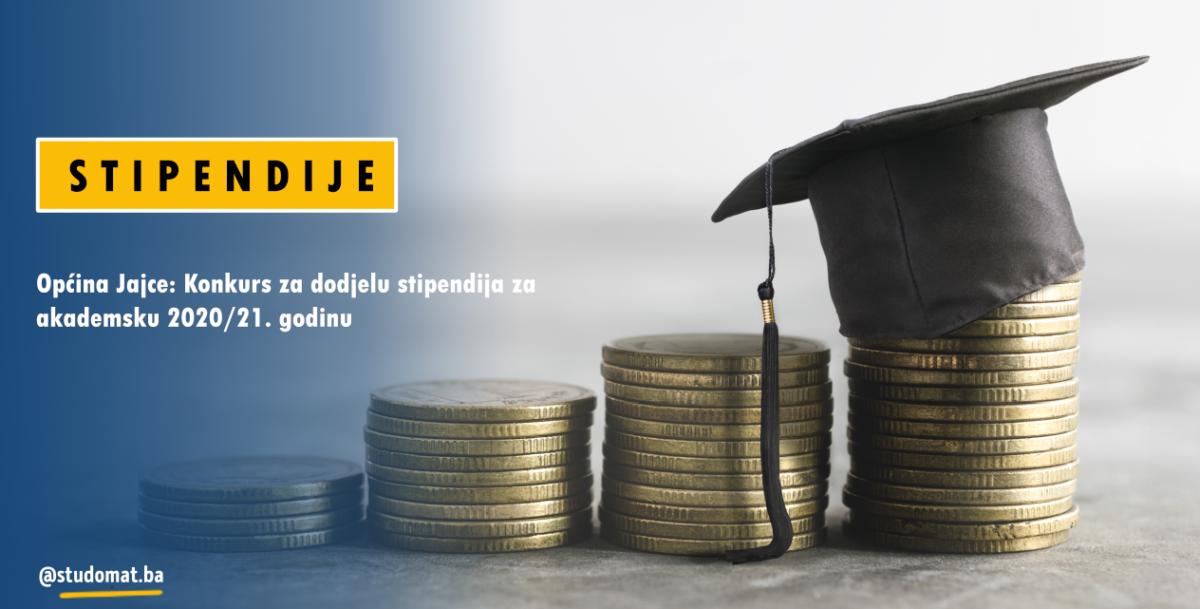 Općina Jajce raspisala Konkurs za stipendije za akademsku 2020/2021. godinu