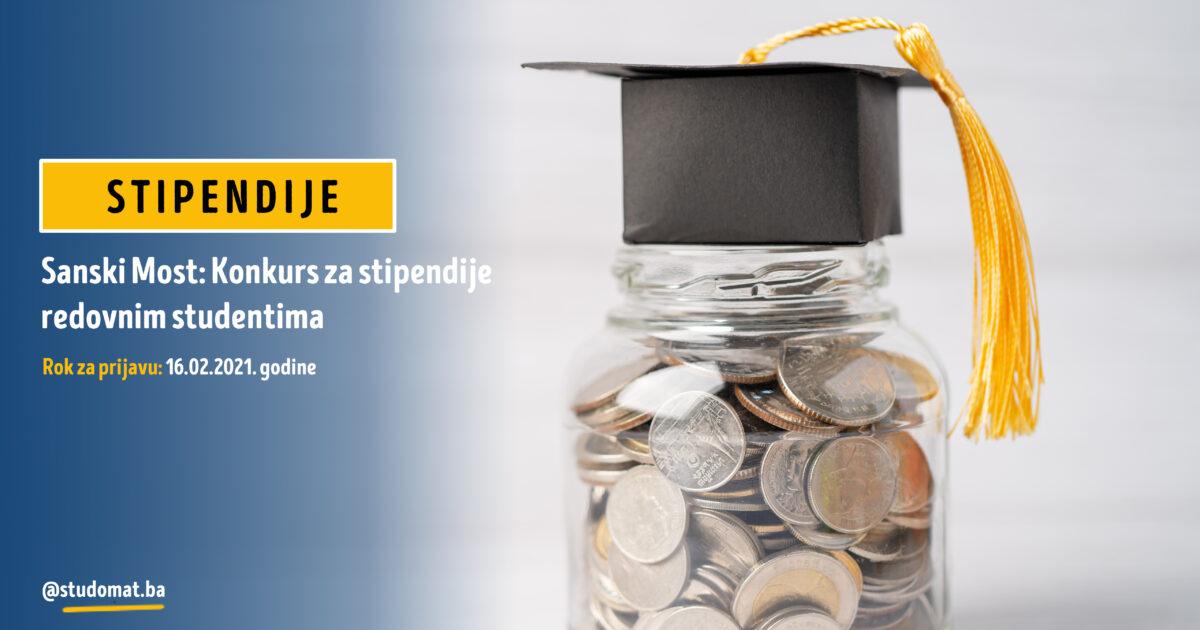 Sanski Most: Konkurs za stipendije redovnim studentima za akademsku 2020/2021. godinu