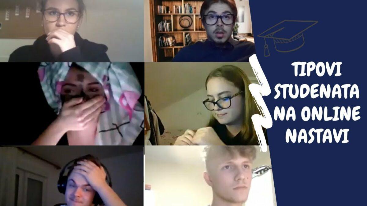 Tipovi studenata na online predavanjima: Šminkerice, štreberi, partijaneri…