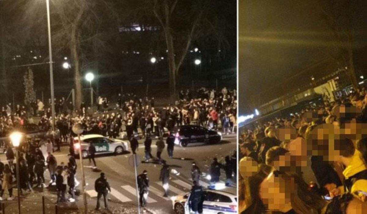 Studenti tulumarili u Zagrebu, otjerala ih policija: 'Ako Vlada može kršiti mjere, možemo i mi'