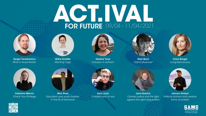 Prijavite se na digitalni festival Act.ival for Future