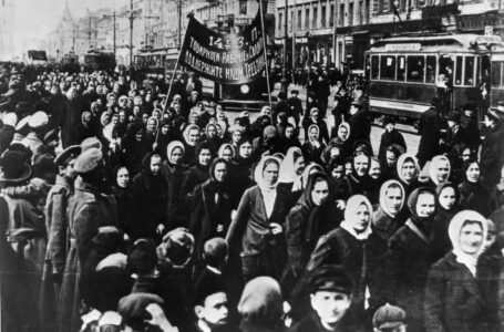 Protest žena u Petrogradu 8. marta 1917.