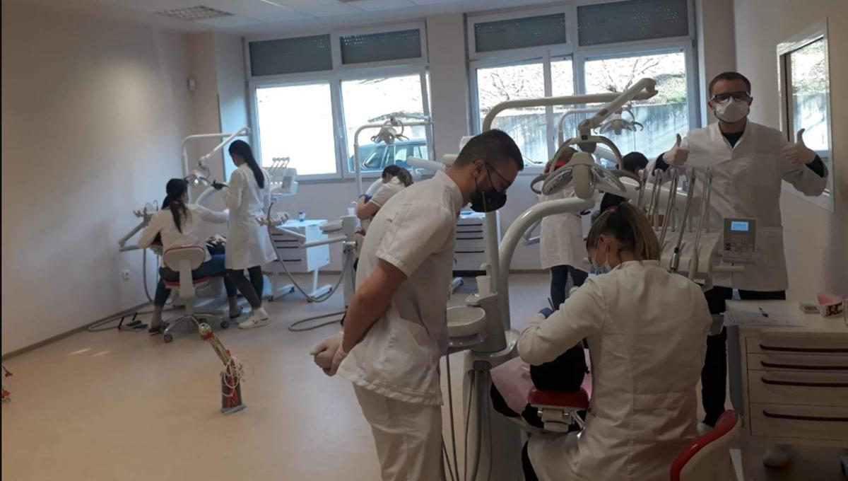 Studenti stečeno znanje primjenjuju u Dentalnoj klinici Medicinskog fakulteta Sveučilišta u Mostaru