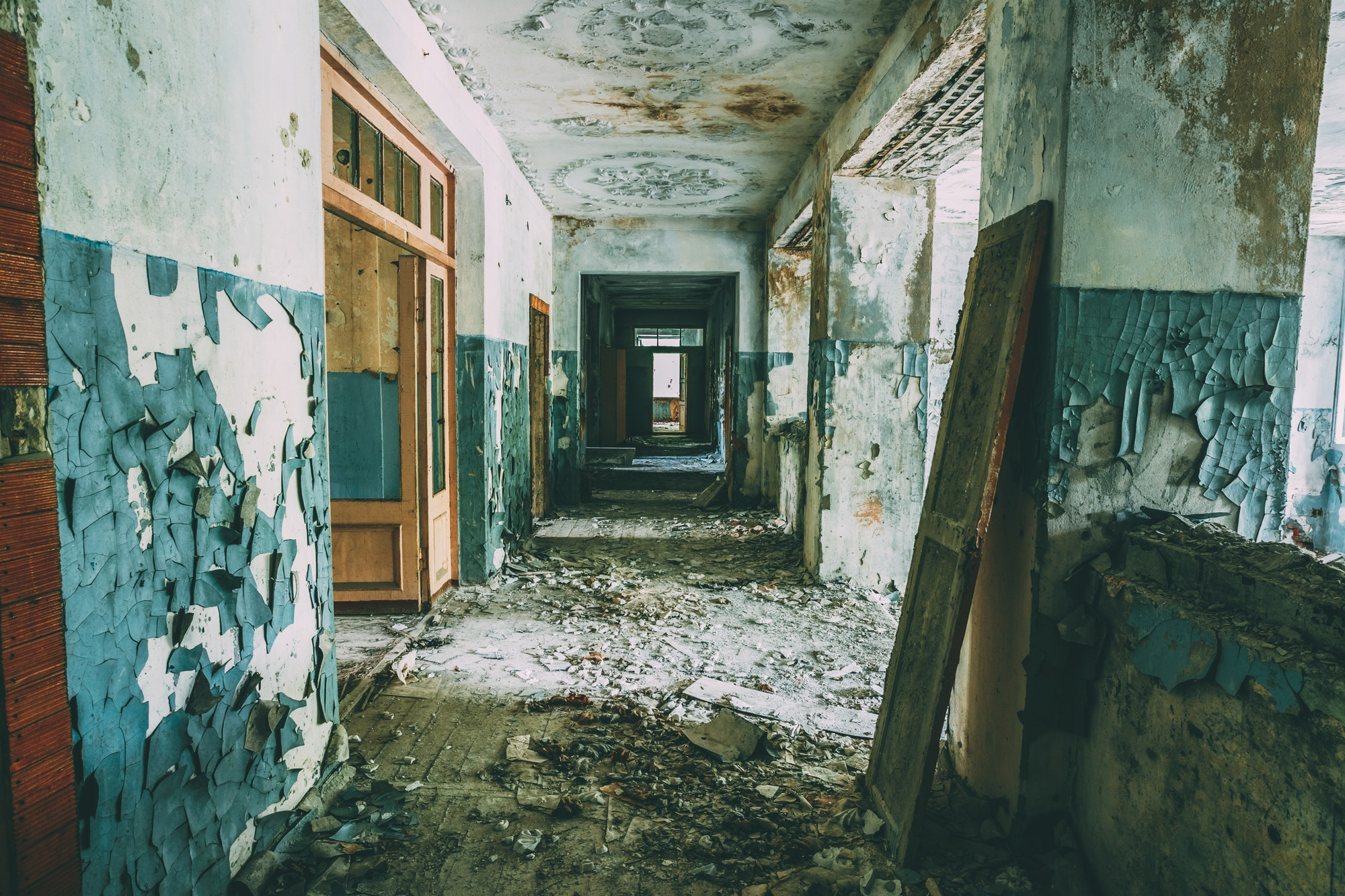 at. Chernobyl Disaster