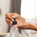 Hand desinfectant during quarantine
