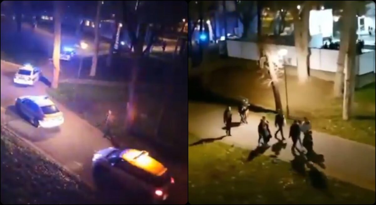 Policija rasturila okupljanje studenata na otvorenom u Studentskom gradu na Novom Beogradu