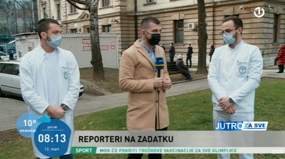 Volonteri Medicinskog fakulteta u Sarajevu: Kada krenemo raditi ostavimo strah kući