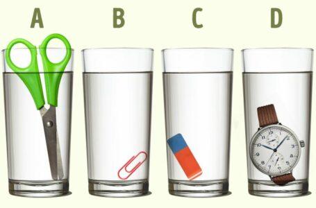 Logička mozgalica: Koja čaša ima više vode?